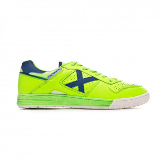 Futsal Boot  Munich Continental Verde flúor-Blue