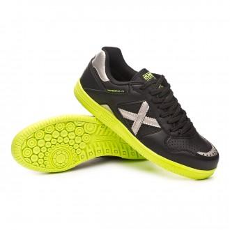 Chaussure de futsal  Munich Continental V2 Noir-Argent