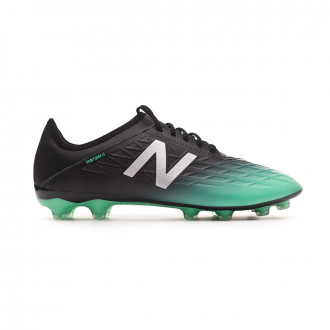 Football Boots  New Balance Furon v5 Destroy AG Neon emerald-Black