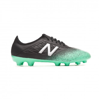 Chuteira  New Balance Furon v5 Dispatch AG Neon emerald-Black