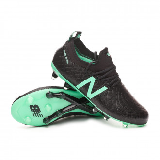 Bota  New Balance Tekela Magia FG-Hybrid Black-Neon emerald