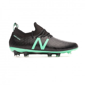 Football Boots New Balance Tekela Magia FG-Hybrid Black-Neon emerald
