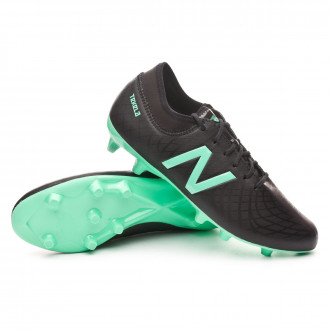 Bota  New Balance Tekela Magique FG-Hybrid Black-Neon emerald