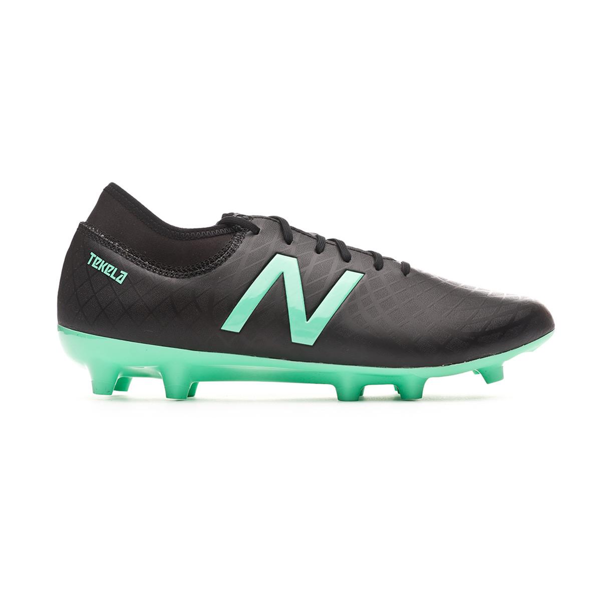 4b8f2dbc6 Football Boots New Balance Tekela Magique FG-Hybrid Black-Neon emerald -  Football store Fútbol Emotion
