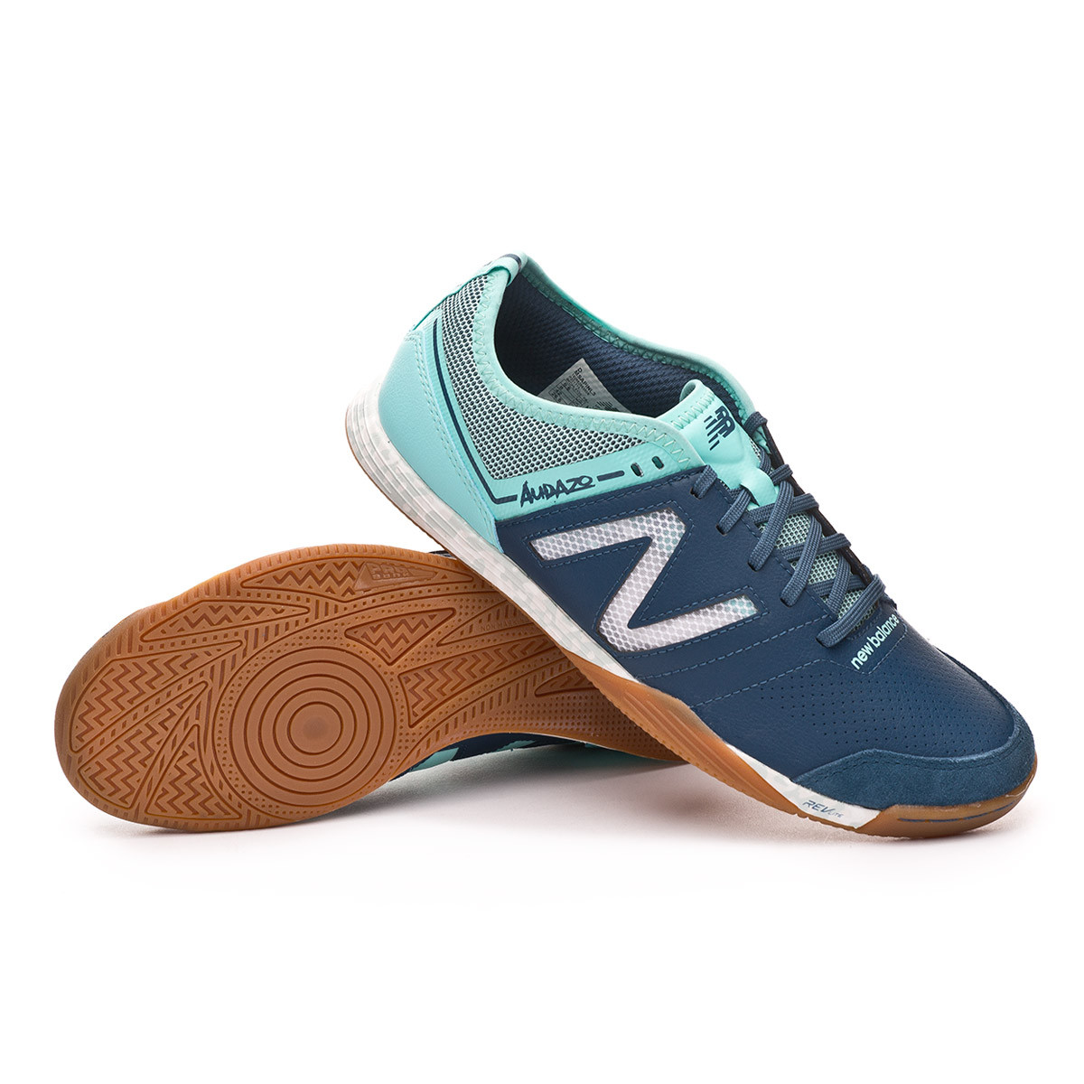 408ab6d55 Futsal Boot New Balance Audazo Pro 3.0 Futsal Blue-White - Football store  Fútbol Emotion