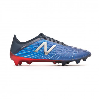 Chuteira  New Balance Furon v5 Liteshift FG Blue-Red