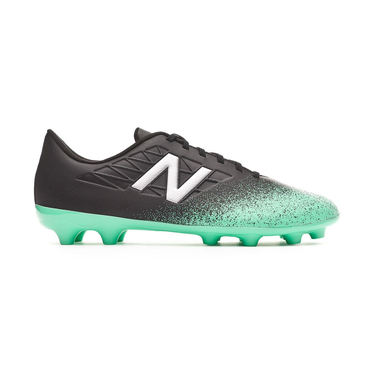 0af56d9b2fc34 Football Boots New Balance Kids Furon v5 Dispatch AG Neon emerald-Black -  Football store Fútbol Emotion