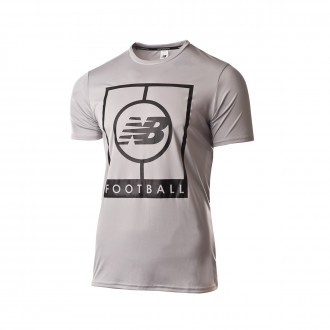 Camiseta  New Balance Graphic Grey