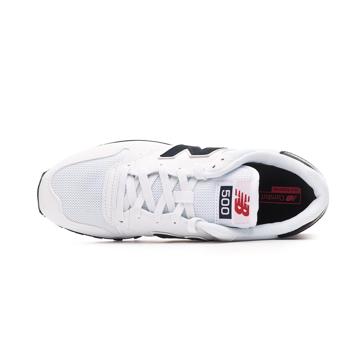 2d6a3a16f Sapatilha New Balance Sapatilhas New Balance 500 White White - Loja de  futebol Fútbol Emotion