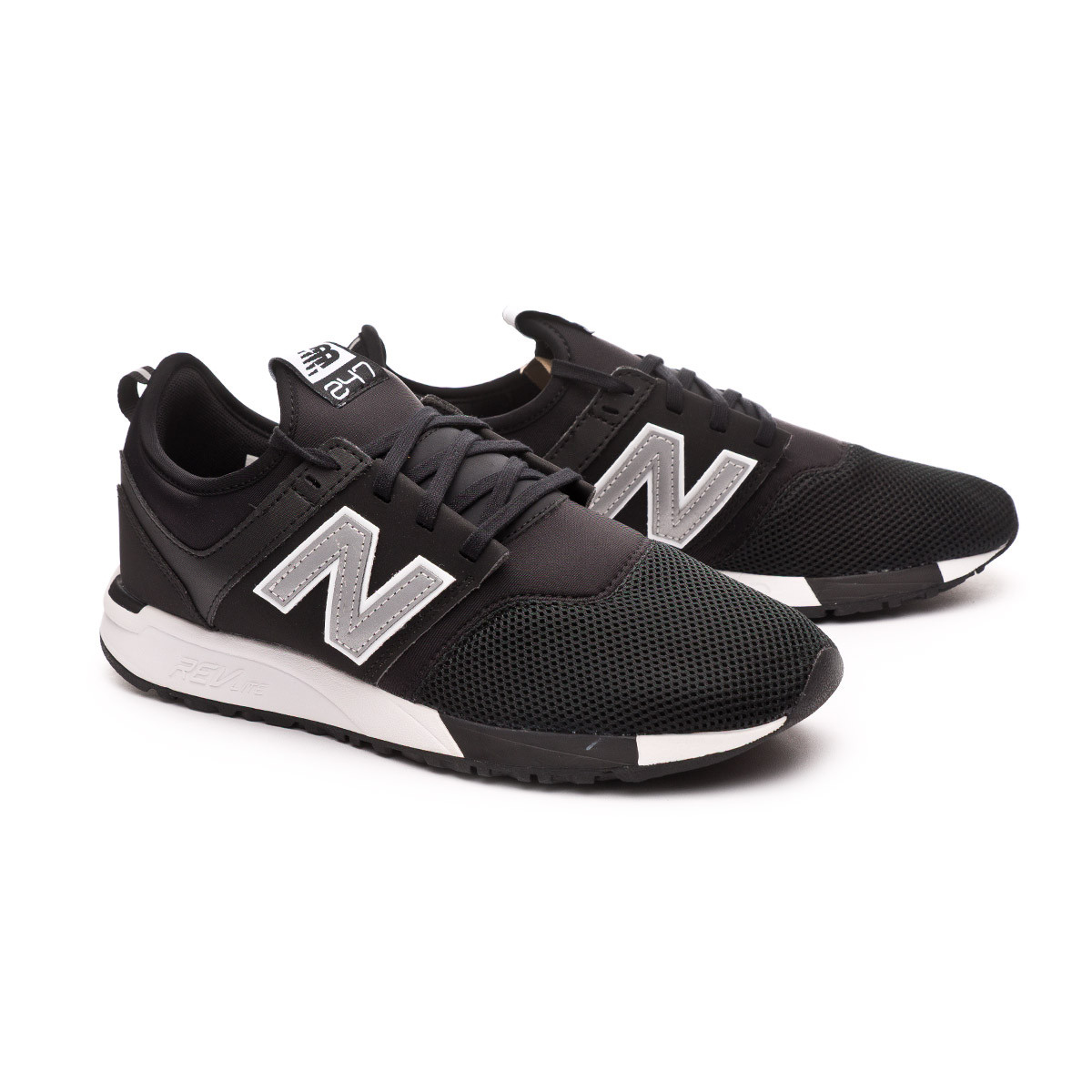 Trainers New Balance 247 Black-Silver