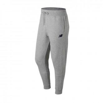 Pantalón largo  New Balance Stacked Logo Essentials Grey