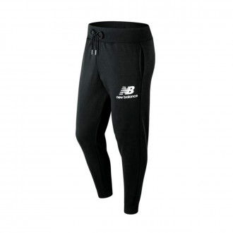 Pantalón largo  New Balance Stacked Logo Essentials Black
