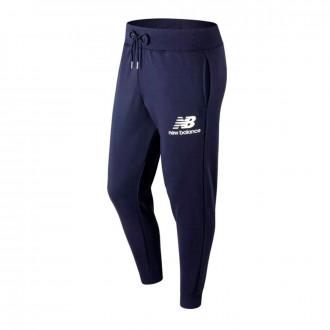 Pantalón largo  New Balance Stacked Logo Essentials Navy
