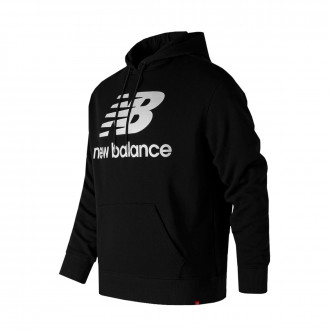 Sweatshirt  New Balance Sweatshirt com capucho  Stacked Logo Essentials Black