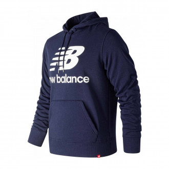 Sweatshirt  New Balance Sweatshirt com capucho Stacked Logo Essentials Navy