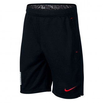 Shorts  Nike Dri-FIT Neymar Niño Black-Challenge red