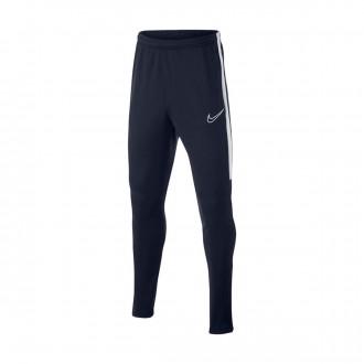 Tracksuit bottoms  Nike Dri-FIT Academy Niño Obsidian-White
