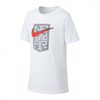 Camiseta  Nike Neymar Jr Hook Niño White