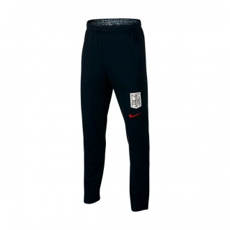 Pantalón largo  Nike Dri-FIT Neymar Niño Black-White-Challenge red
