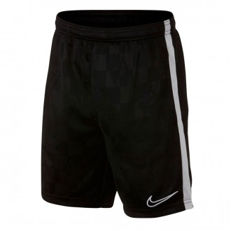 Shorts  Nike Breathe Academy Niño Black-White