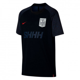 Camiseta  Nike Dri-FIT Neymar Niño Black-Challenge red