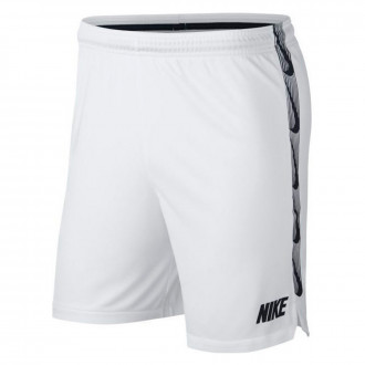 Shorts  Nike Dri-FIT Squad Niño White-Black