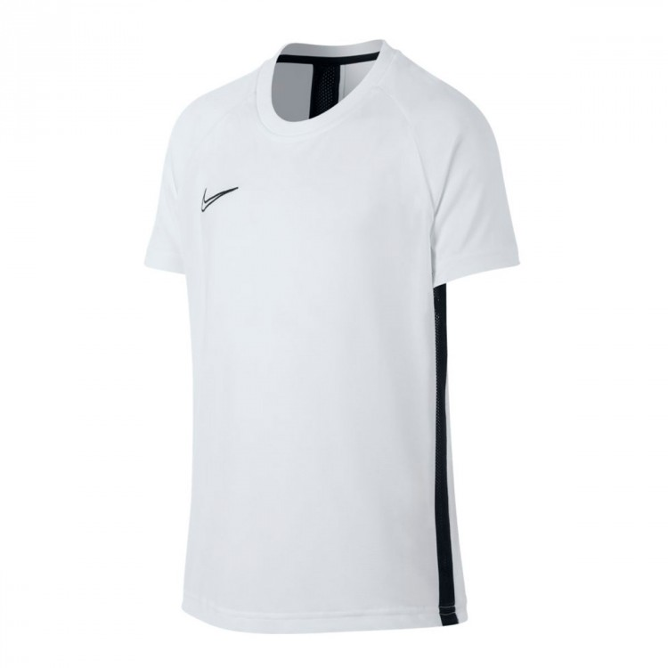 Black Dri White Camiseta Niño Academy Fit cTF1lKJ