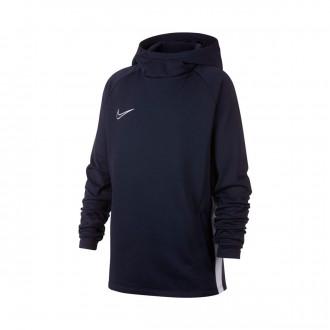Sudadera  Nike Dri-FIT Academy Niño Obsidian-White