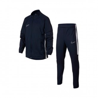 Tracksuit  Nike Dri-FIT Academy Niño Obsidian-White