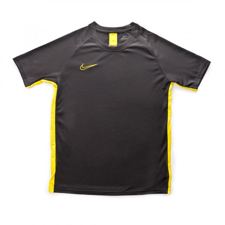 Jersey Nike Dri-FIT Academy Niño Anthracite-Optical yellow ... 3ec1968609023