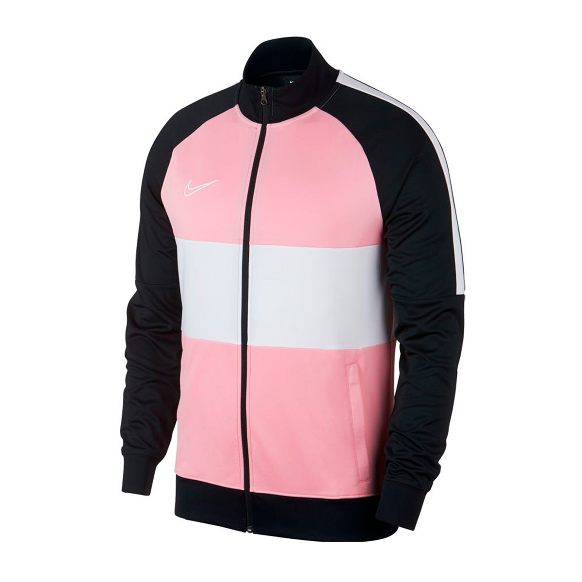 a0ec50de Jacket Nike Dri-FIT Academy Black-Soft pink-White - Football store ...