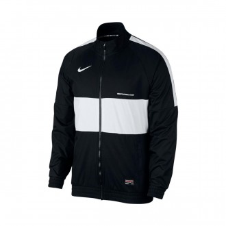 Casaco  Nike Nike F.C. Black-White