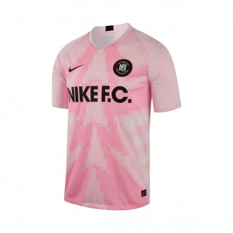 Camiseta  Nike Nike F.C. Pink foam-Pink rise-Black