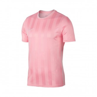 Camiseta  Nike Breathe Academy Soft pink-White