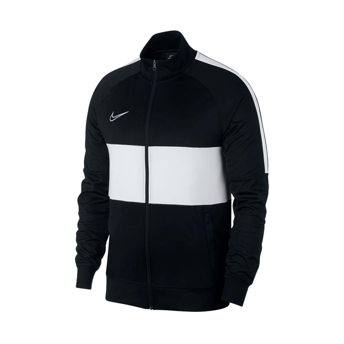 f09b6319b844 Jacket Nike Dri-FIT Academy Black-White - Football store Fútbol Emotion