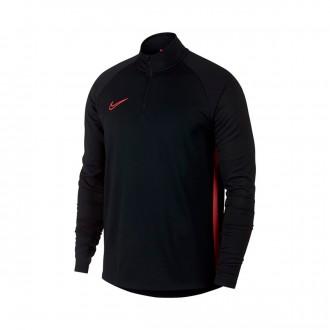 Sudadera  Nike Dry-FIT Academy Black-Ember glow
