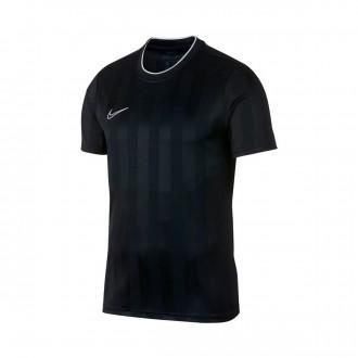 Camiseta  Nike Breathe Academy Black-White