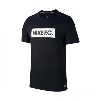 Camiseta  Nike Nike F.C. Seasonal Block Black