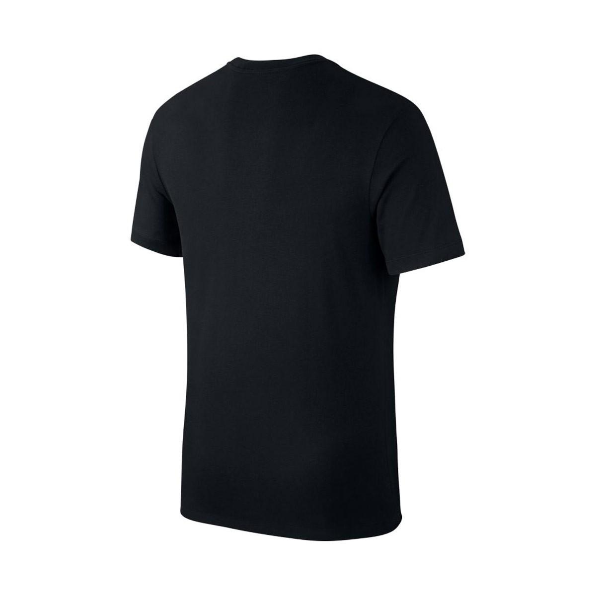Camiseta Nike F C  Seasonal Block Black