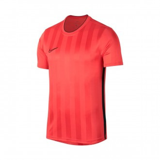 Camiseta  Nike Breathe Academy Ember glow-Black
