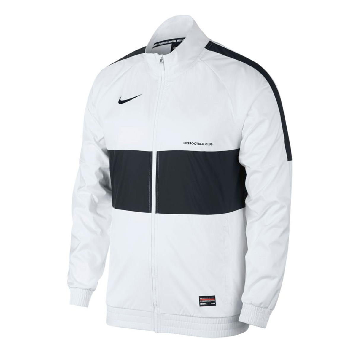 Negligencia estéreo difícil  Jacket Nike Nike F.C. White-Black - Football store Fútbol Emotion
