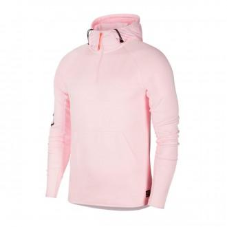 Sudadera  Nike Nike F.C. Pink foam-White