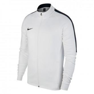 Casaco Nike Academy 18 Knit White-Black