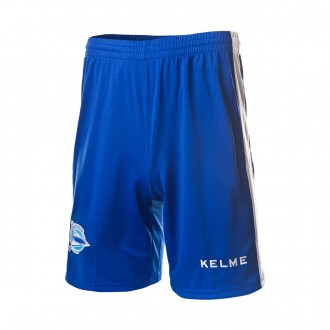 Shorts  Kelme D. Alavés 2018-2019 Home Blue