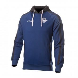 Sweatshirt  Kelme Sweatshirt  D. Alavés 2018-2019 Blue