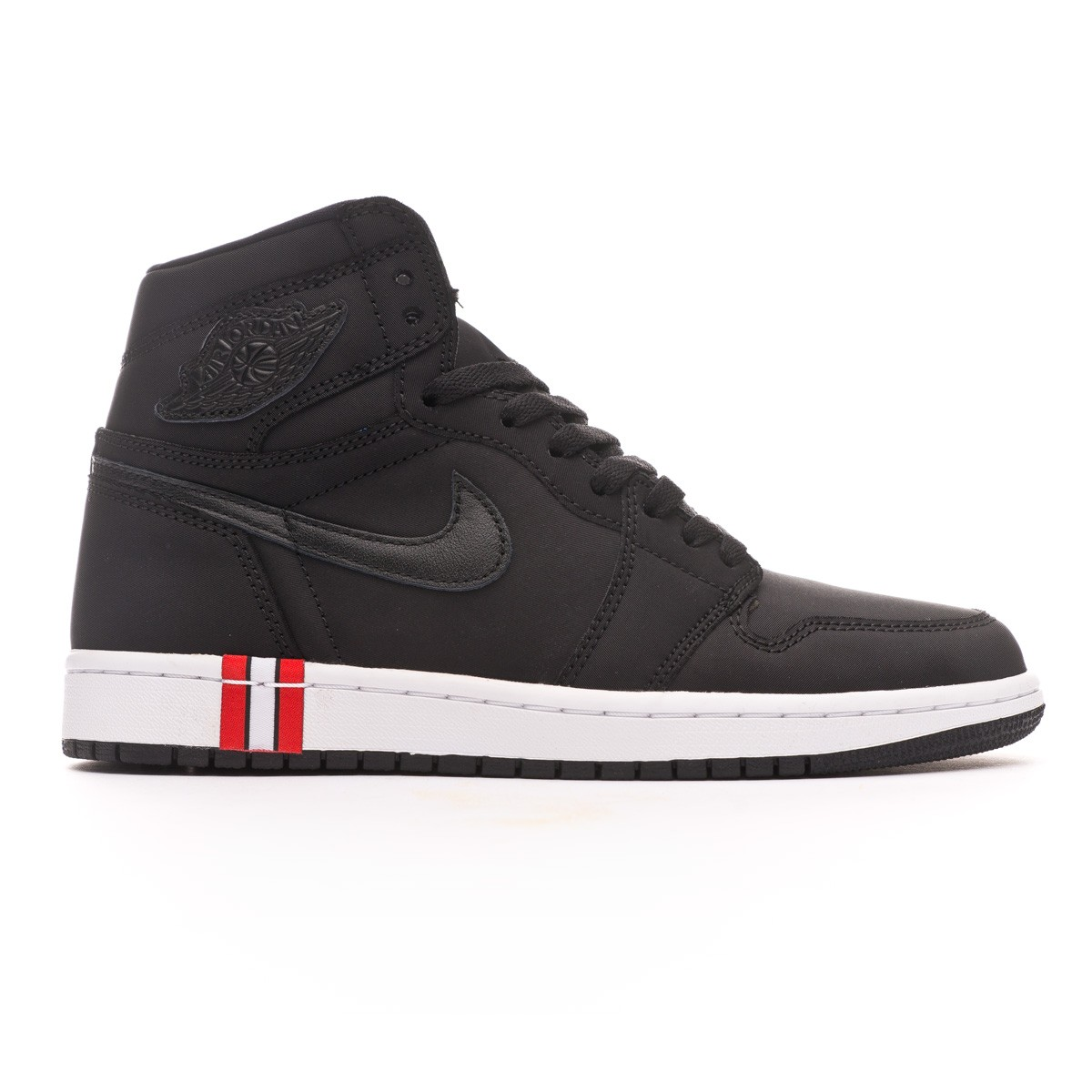 Trainers Nike Air Jordan 1 Retro Hi OG Jordan x PSG Black-Challenge red-White  - Football store Fútbol Emotion a787dc61d