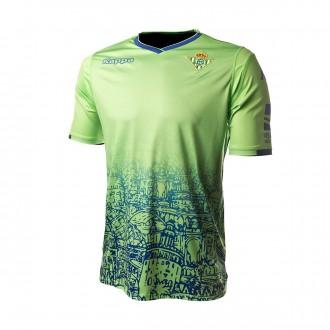 Camiseta  Kappa Real Betis Balompié Tercera Equipación 2018-2019 Niño Green flash fantasy