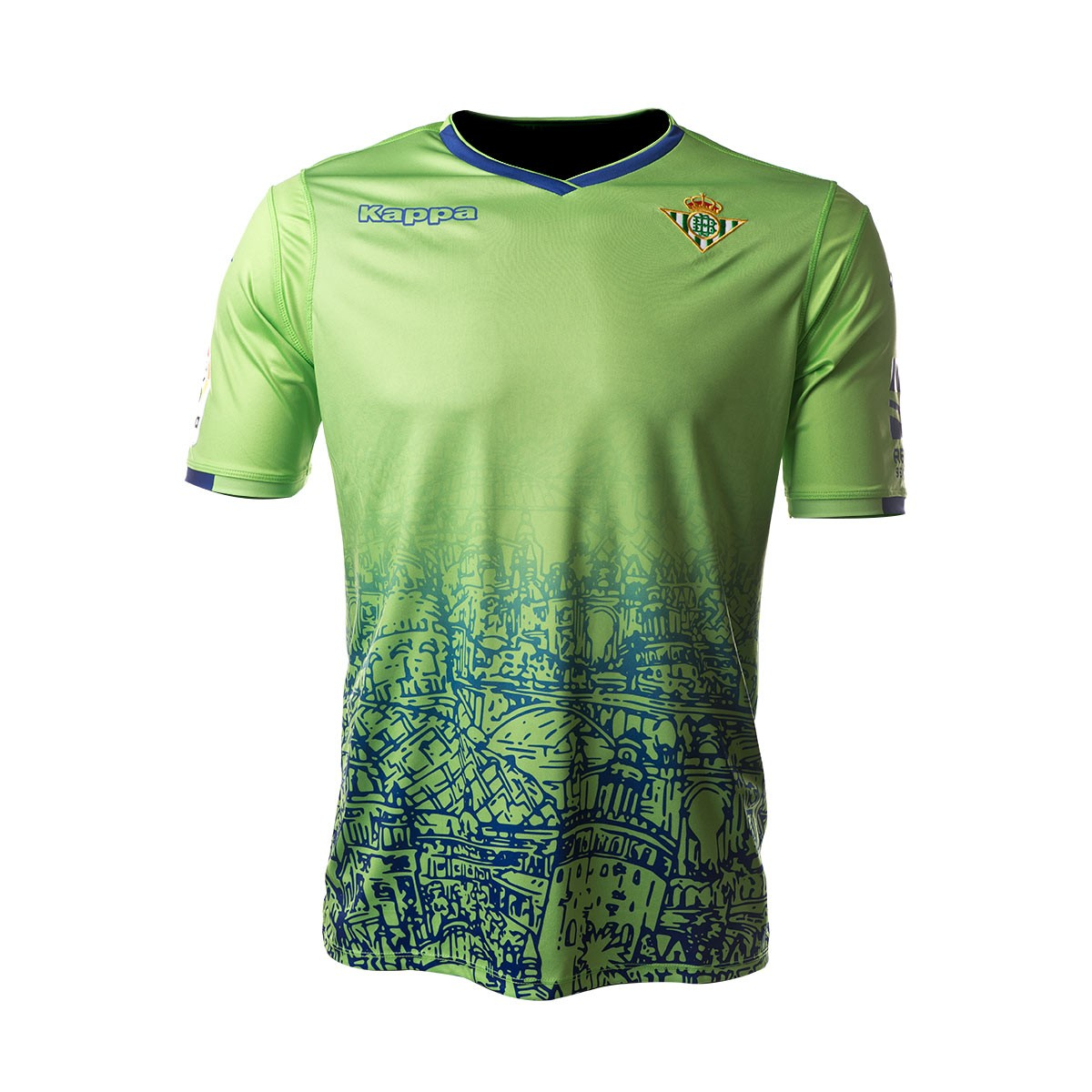 eb0d5e409f7 Jersey Kappa Kids Real Betis Balompié 2018-2019 Third Green flash fantasy -  Football store Fútbol Emotion
