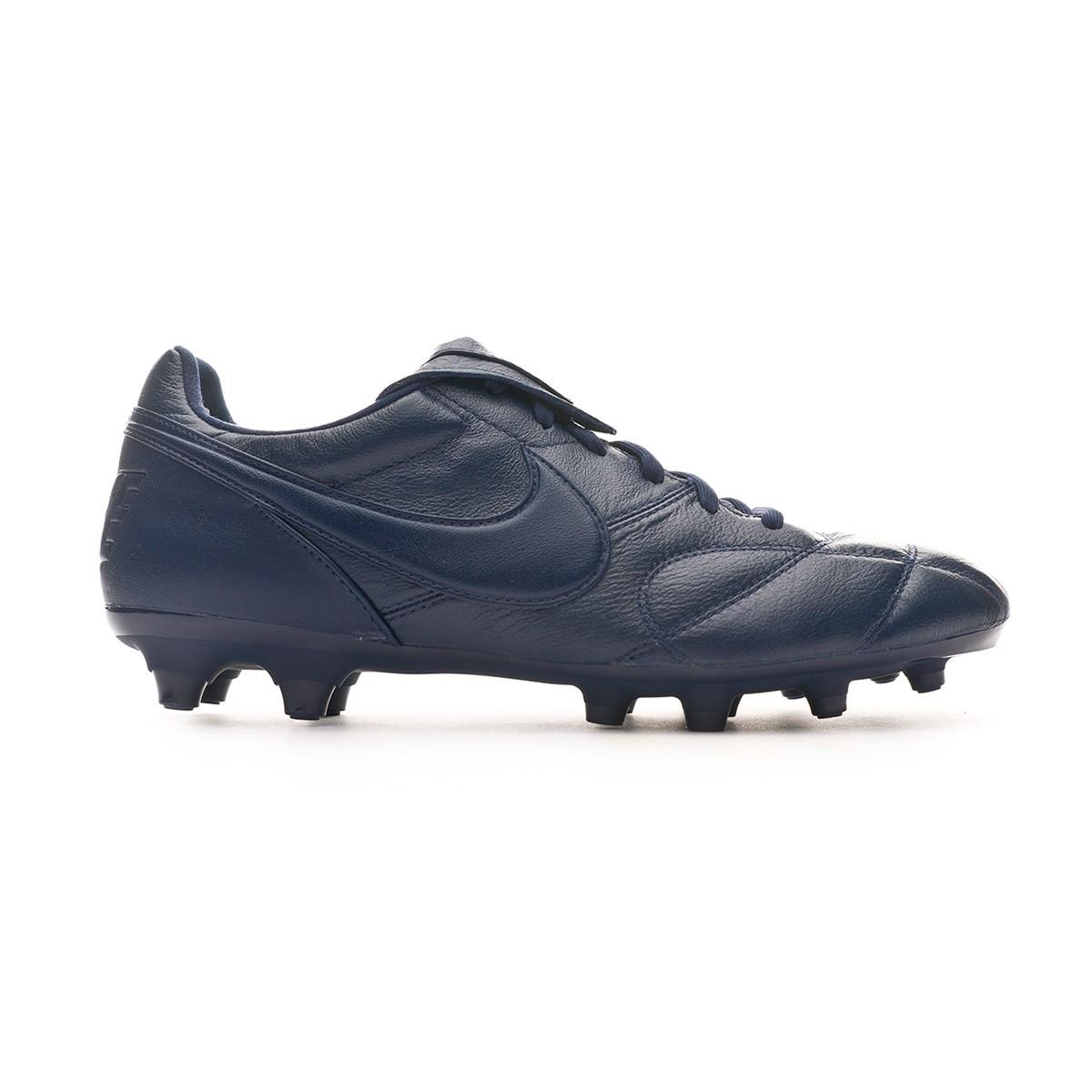 Football Boots Nike Tiempo Premier Ii Fg Midnight Navy