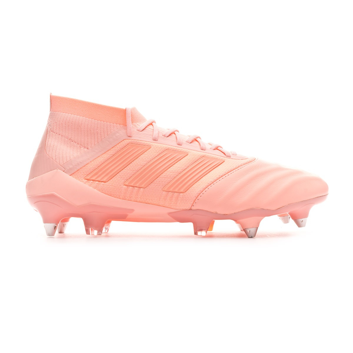 97413d3772c Football Boots adidas Predator 18.1 SG Leather Clear orange-Trace pink -  Football store Fútbol Emotion